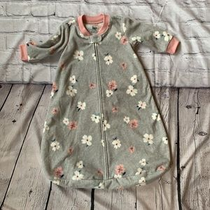 🌺 3/$25 Flower Fleece Sleep Sack